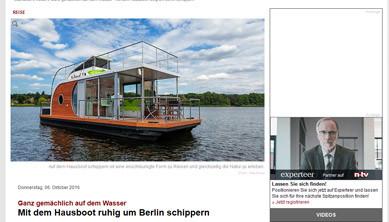 Nautilus Hausbootcharter - Hausboot mieten in Berlin, Brandenburg ...