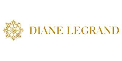 Diane Legrand. Eine Brautmoden Firma, die verspielte und moderne Brautkleider herstellt. Erhältlich bei Princess Dreams.