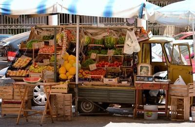 Palermo Marktstand