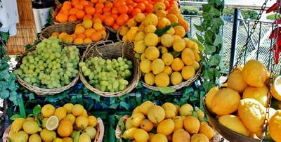 Sizilianische Orangen und Zitronen
