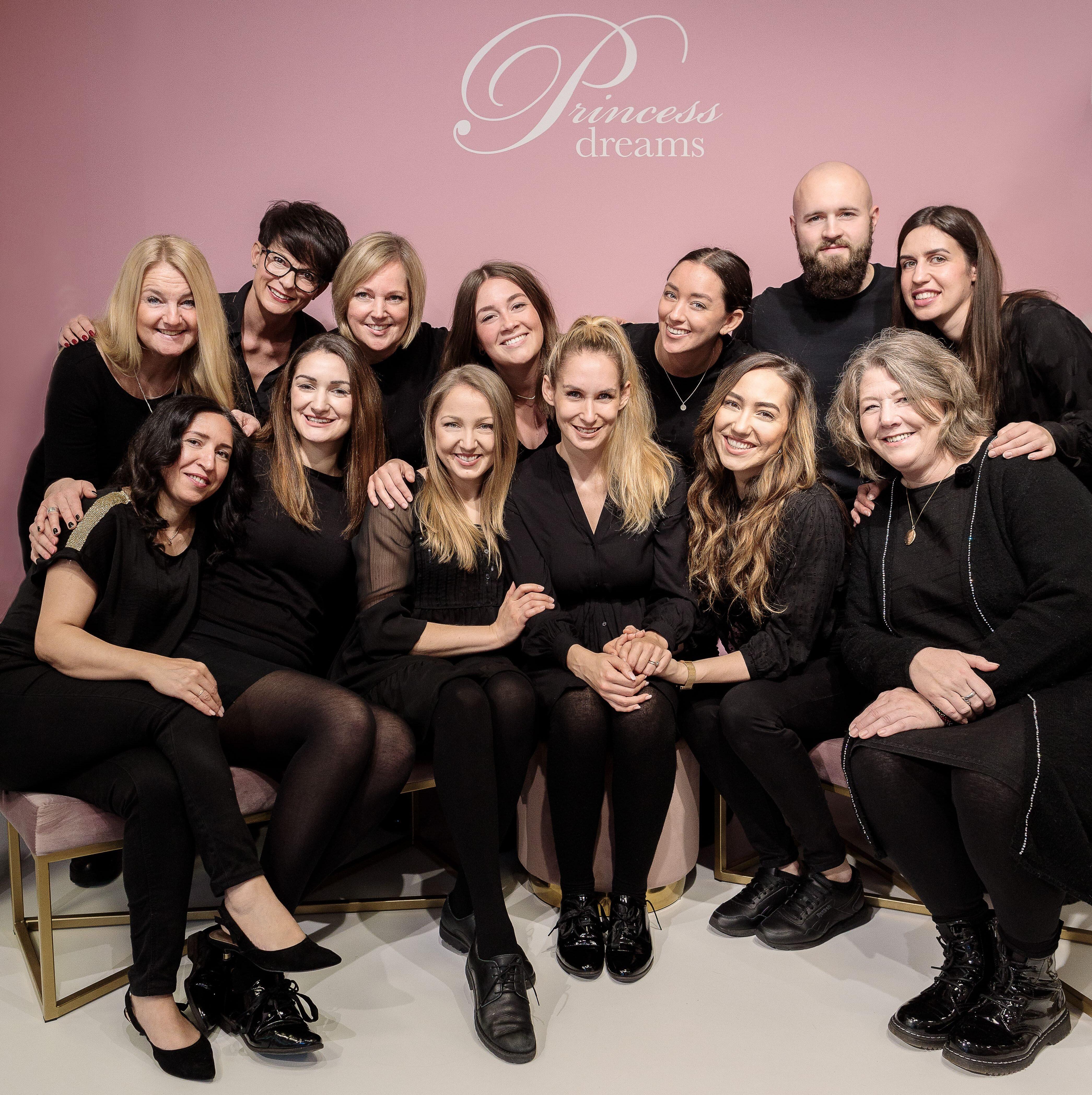 Das Team von Princessdreams