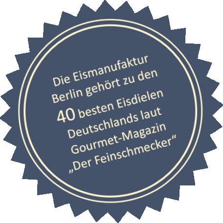 Der Feinschmecker - 40 beste Eisdielen