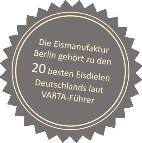 Varta-Führer - 20 beste Eisdielen