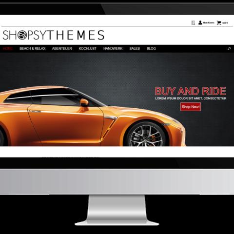 Webdesign Carwrapping
