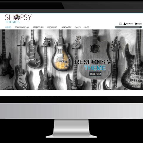 Webdesign Musik