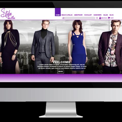 Webdesign Fashion