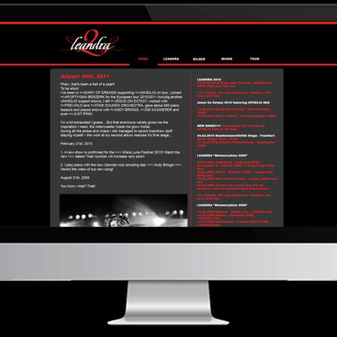 Webdesign Leandra