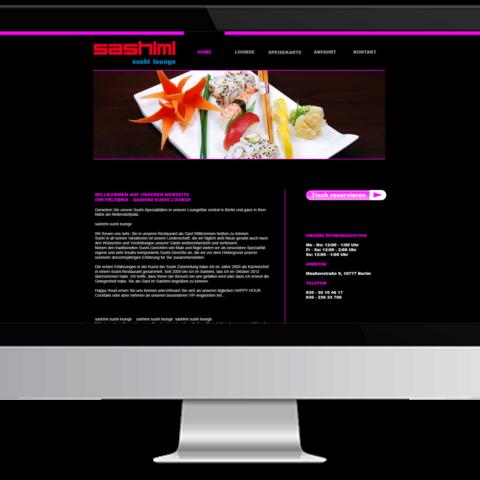 Webdesign Sashimi