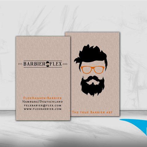 Barbier Visitenkarten