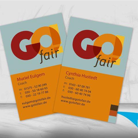 GoFair Visitenkarten