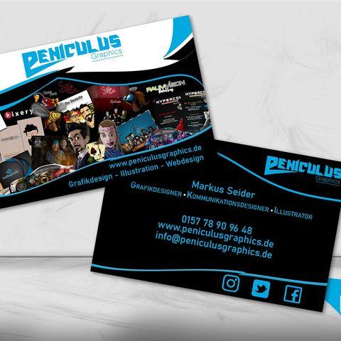 Peniculus Graphics Visitenkartendesign