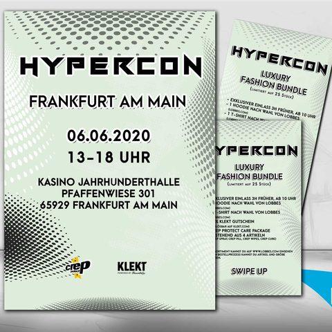 Hypercon Plakatdesign