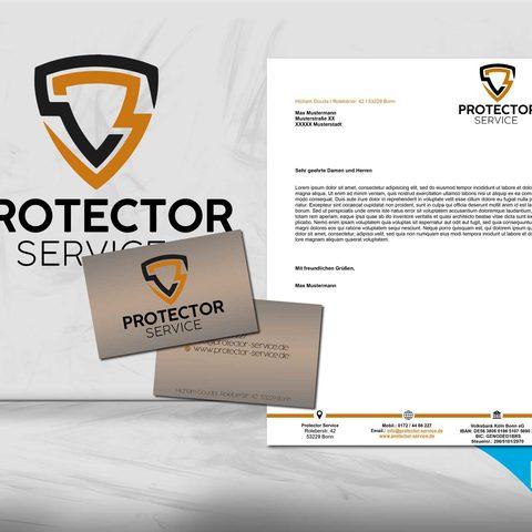 Protector Service Coporate Design