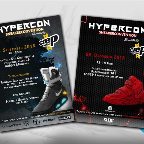 Hypercon Sneakerconvention Plakat