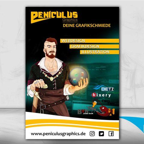 Plakatgestaltung Peniculusgraphics