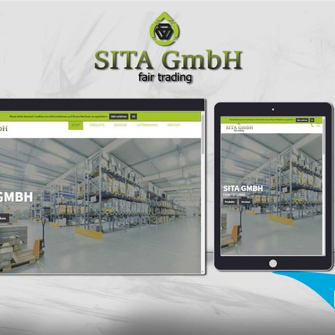 Sita GmbH Webdesign