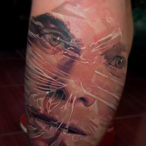 Kristof, Kondrat, Selfmade, Tattoo, Berlin, Vegan, Portrait, Farbe, Color, Dexter, Realistic, WalkIn, Studio