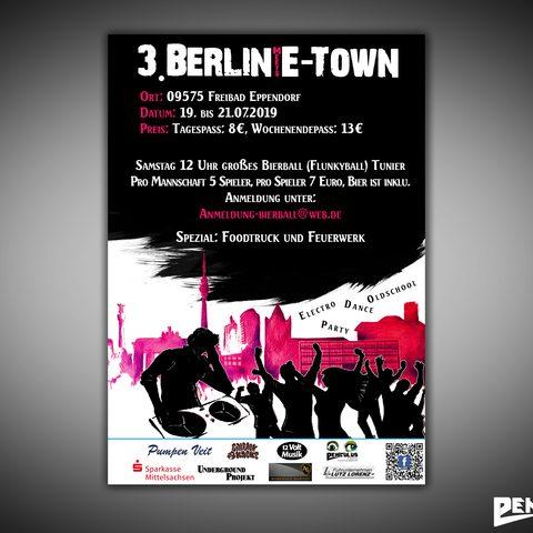 Plakat Meet E-town