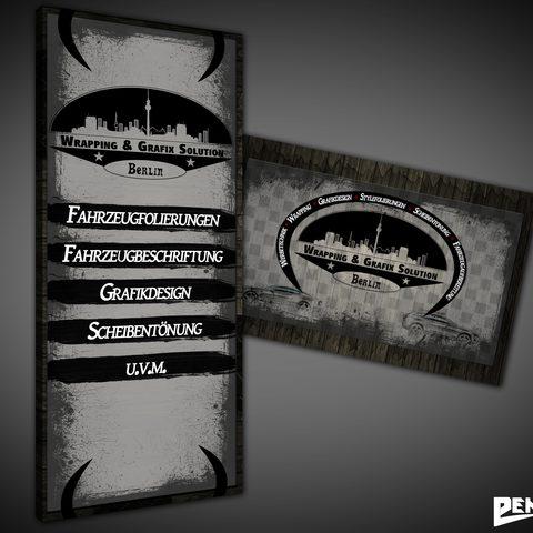 Visitenkarte & Rollup