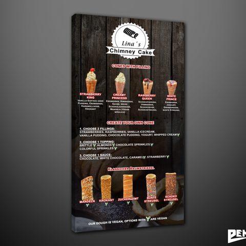 Plakat Chimney Cake