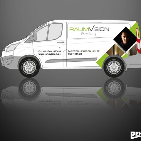Wrapdesign Raumvision