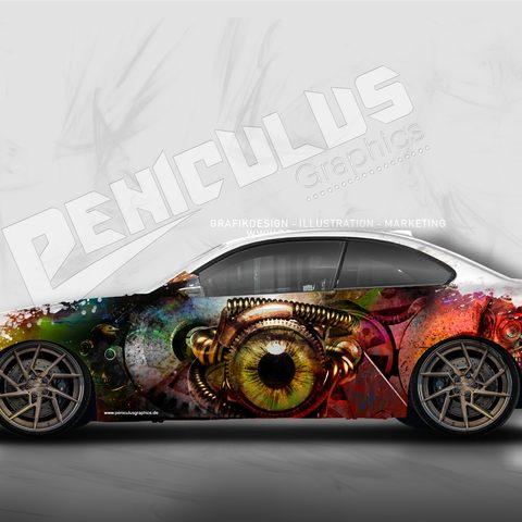 Wrapdesign BMW M2
