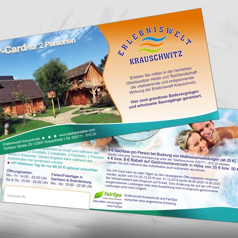 VIP Card Krauschwitz Therme