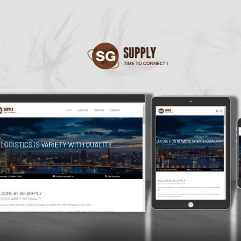 Webdesign SG-Supply