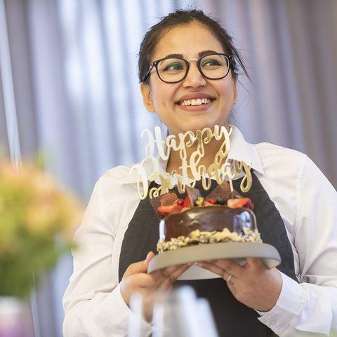 Mediterranes Restaurant 'Die Insel' Geburtstagsfeier