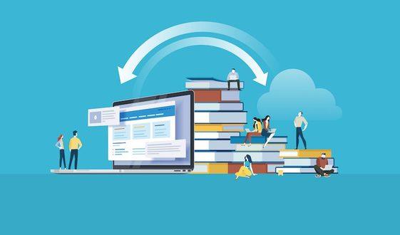 Online und Offline Markt