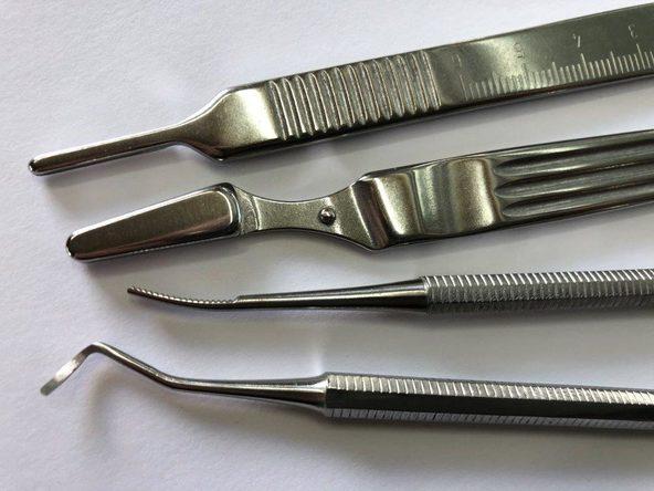 Instrumente aus Stahl, made in Solingen