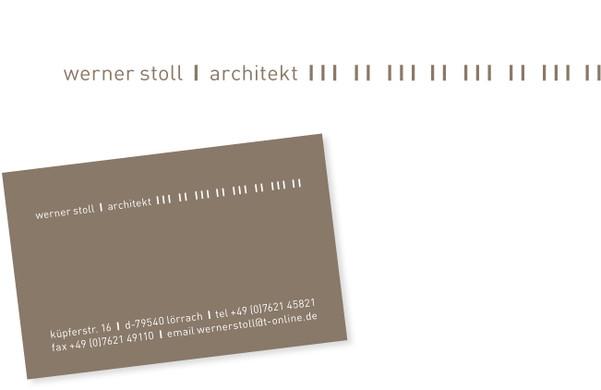 Architekt Lörrach grafikdesign krauss wintterlin