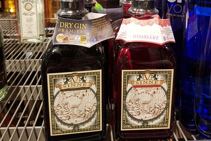Edeka Stegmann Kissing Dry Gin aus dem Schwarzwald
