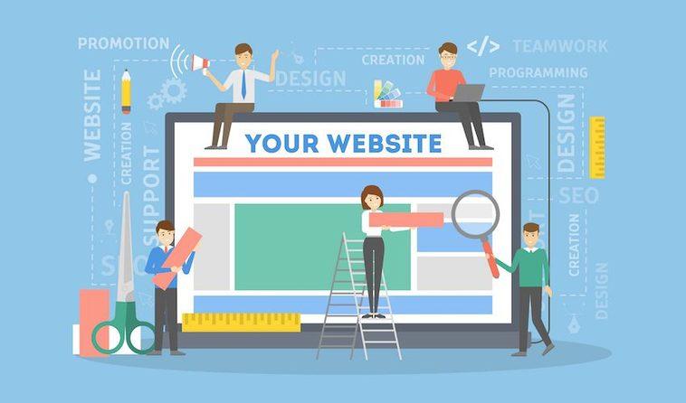 Was gehört in einer Website?