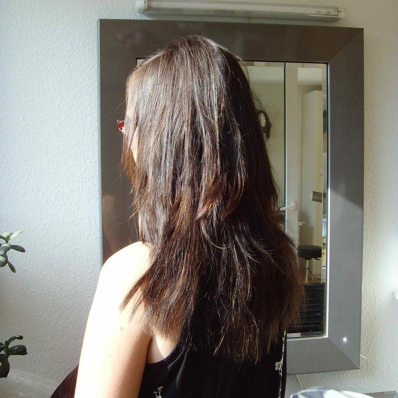 Haarverlängerung  -Schritt 4