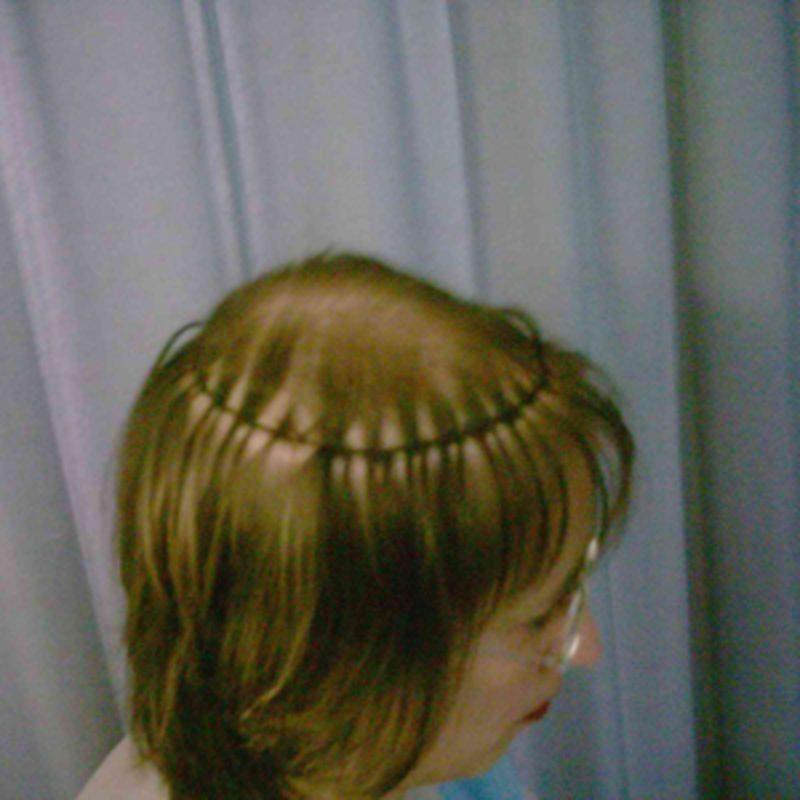 Haarteile - Schritt 3