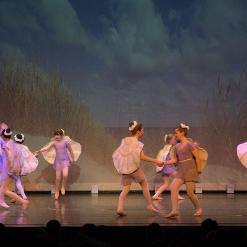 Ballettvorführung der Ballettschule Petra Finger in Hamm.