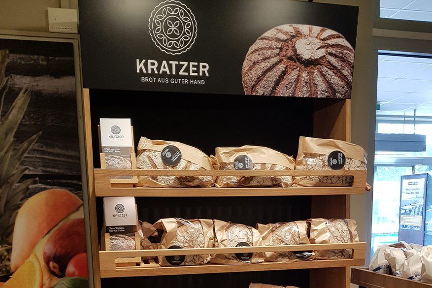 Edeka Stegmann Kissing Kratzer Brot
