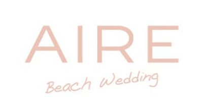 Aire Beach Wedding. Eine Brautkleid marke, die auf Strand Hochzeitskleider spezialiert ist. Erhältlich bei Princess Dreams.