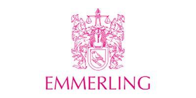 Das Logo des Brautaccessoires Herstellers Emmerling.