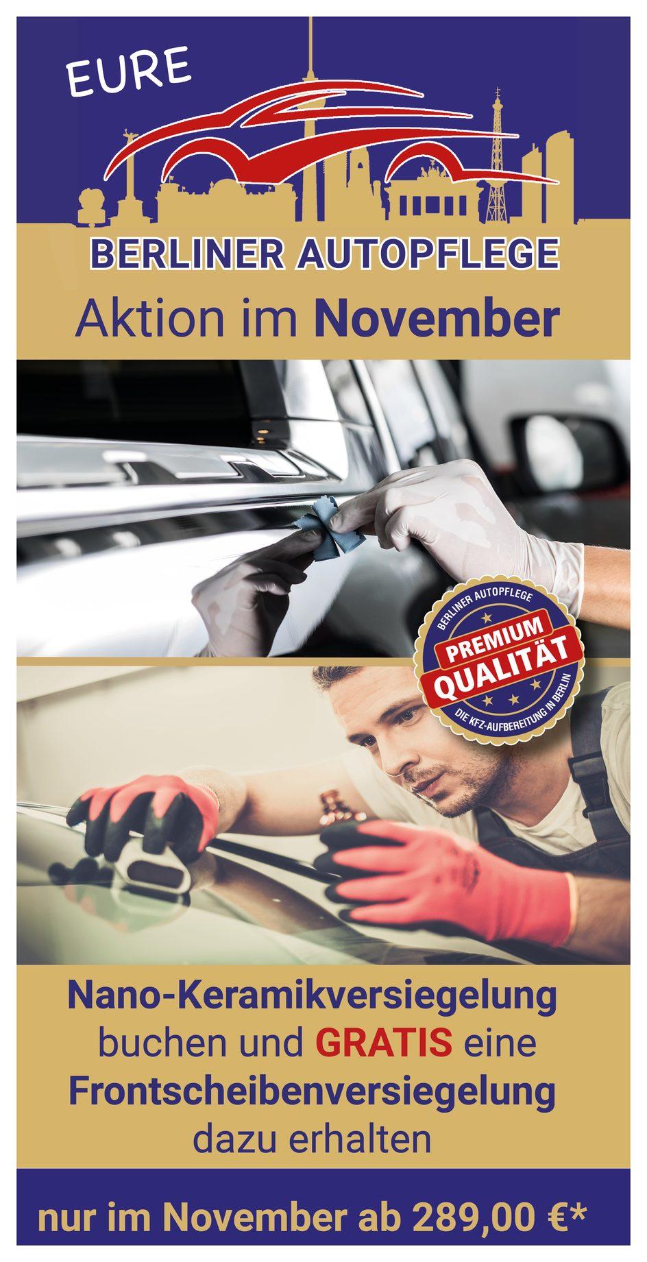 Autopflege Marzahn, Hellersdorf Angebot im Oktober