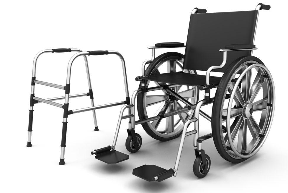 Rollstuhl aus dem Sanitätshaus Röper in Menden