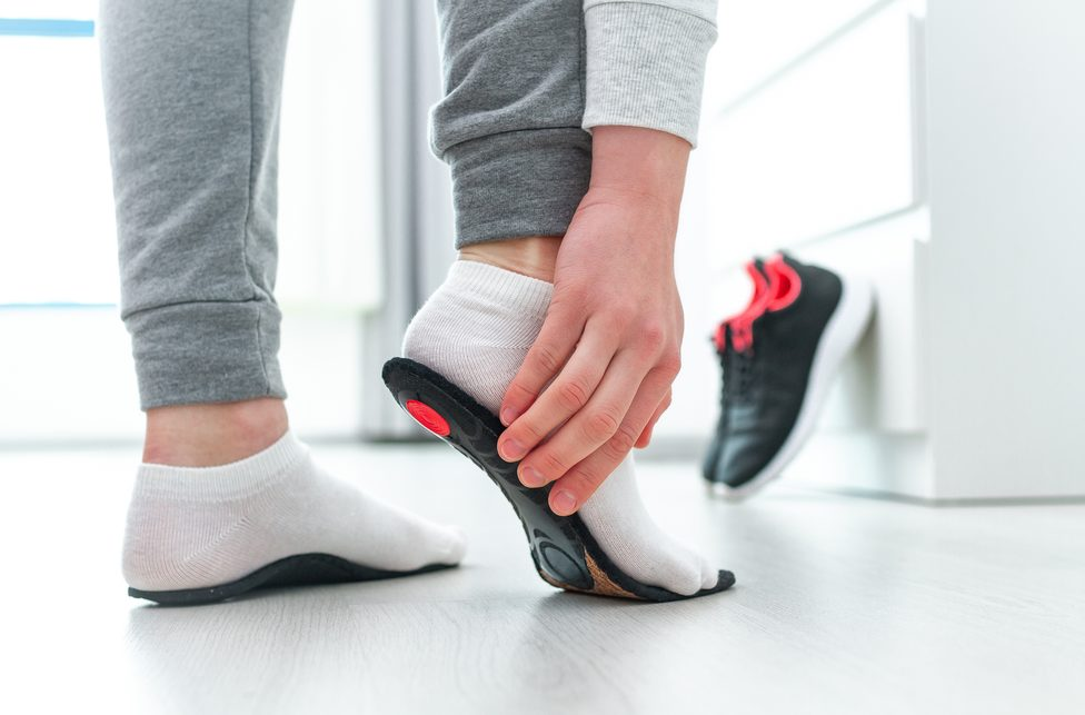 Schuheinlagen aus dem Sanitätshaus Röper in Menden