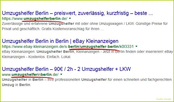 Umzugshelfer Berlin Suchergebnisse Lokal