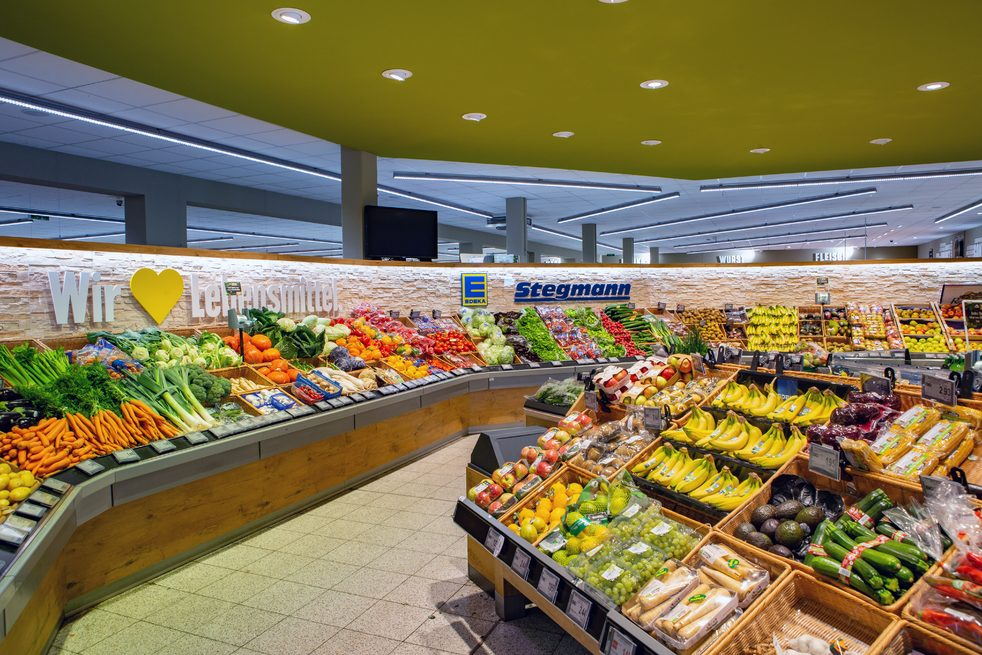 Edeka Stegmann Kissing Obst- und Gemüseabteilung